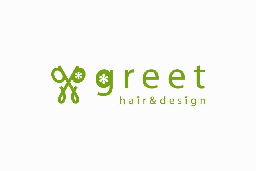 美容室のロゴマークデザイン