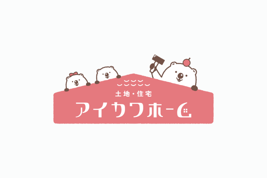 不動産屋のロゴマークデザイン